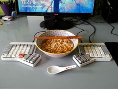 Ramen friendly keyboard