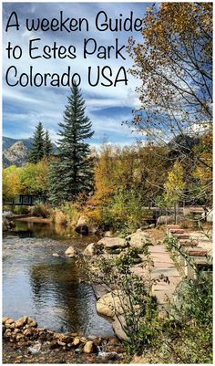 How to spend a weekend in Estes Park Colorado, where to stay and what to see Estes Park Restaurants, Estes Park Hotels, Estes Park Colorado, Colorado Usa, Skiing Colorado, Colorado Trip, Places Around The World, Travel Around The World, Rocky Mountain National Park