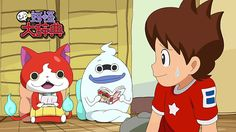 Yo-Kai watch in a nutshell Watch Gif, Youkai Watch, Fire Emblem Fates, Cute Games, Anime People, New Leaf, Animal Crossing, Funny Animals, Disney Characters