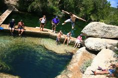 Jacob's Well swimming hole
