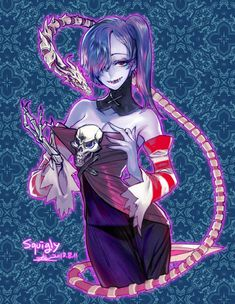 Squigly. by http://pigeon666.tumblr.com/