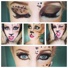 I really wanna try this look but I need to get a matte bronzer. But I have a dark blush so that might work. #makeup