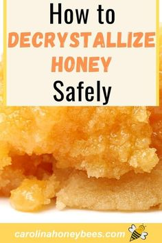 Cooking Tips, Cooking Recipes, Food Tips, Food Ideas, Decrystallize Honey, Raw Honey, Honey Bees, Amazing Food Hacks, Cooking With Honey