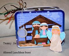 Cute nativity playset uses a mini lunch box.  All characters easy to print and assemble from here: http://www.aimeeasher.com/shoppe/product.php?productid=4616=0=1