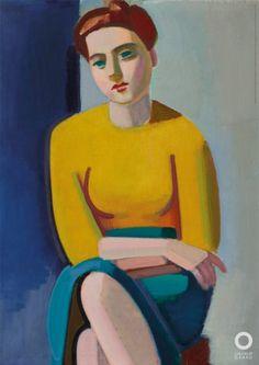 Vilhelm Lundstrøm. Portræt af Hanne Wilhelm Hansen