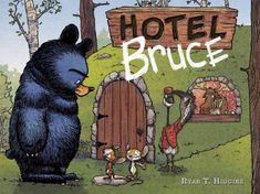 """Read """"Hotel Bruce A Disney Hyperion E-book With Audio"""" by Ryan T. Higgins available from Rakuten Kobo. When Bruce gets home from a southern migration trip with his goslings, he is tired. He is grumpy. And he is definitely n. New Books, Good Books, Albin Michel Jeunesse, Best Toddler Books, Take A Hint, Album Jeunesse, Anaya, 2016 Pictures, Pillow Fight"""