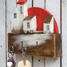 Wooden Wall Decor, Wooden Walls, Wooden Buildings, Large Photos, Wooden Crafts, Little Houses, Diy Toys, Wood Art, Woodworking