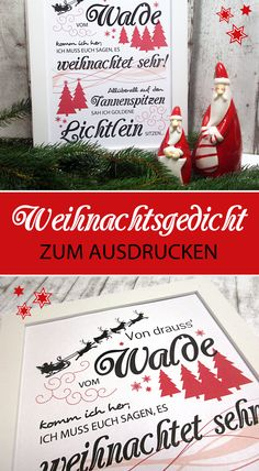 Lass auch in deine Wohnung ein bisschen Weihnachtsstimmung einziehen - mit meinem Freebie dieses beliebten Weihnachtsgedichtes. Auch eine süße Geschenkidee zum Nikolaus! :)