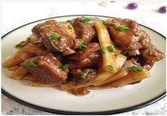 Pork Chop with Rice Cakes