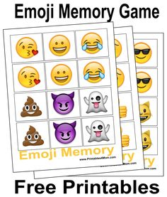 10 Free, Last Minute Printable Stocking Stuffer Games I just discovered the greatest thing ever – Scotch Self-Sealing Laminating Pouches! No machine is needed to use these things and they are perfect for laminating your printables. My son wants an Emoji Matching game for Christmas, but I hate the idea of spending money on something…