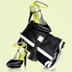 mark. Cut Out For It Convertible Bag and Twist of Lime Heels