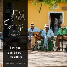A collection of favorite folk songs in Spanish and folk songs from Latin America. The traditional music that embodies Hispanic culture!