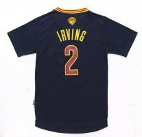 2016 Cavaliers Finals #2 Irving Sleeved jersey black