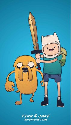Adventure Time With Finn And Jake iPhone 6 / 6 Plus wallpaper