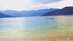 a tranquilidade de um dia de praia...
