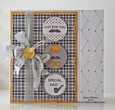 Need fantastic ideas concerning arts and crafts? Head out to our great info! Man Projects, Projects To Try, Create And Craft Tv, Craftwork Cards, Just For Men, Beautiful Handmade Cards, Fathers Day Cards, Card Maker, Craft Work