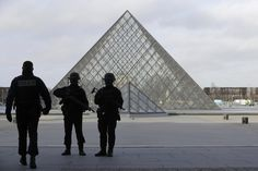 Machete-wielding attacker shot and wounded at Louvre identified as 29-year-old Egyptian man