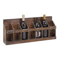 Woodland Imports 16 Bottle Hanging Wine Rack & Reviews   AllModern