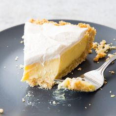 This light, bright lemon pie has a perfect balance of sweet, salty, and sour. Best of all? It's dead simple to make.