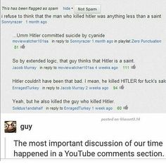 Moral of the story:  If Hitler was able to successfully seize control of several different European countries and scare many others into submission with that mustache on his face, then regardless of how stupid you look, you can accomplish anything - The Bean Man  #funny#tumblr#textpost#textposts#funnypics#funnypictures#funnyposts#hilarious#meme#memes#whyareyoureadingthesehashtags#isthereevenanypointtodoingthiswholehashtagthinganymore#sigh