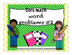 $ Math Word ProblemsThese word problems will challenge all of your students. They are scaffolded for all potential students that you may have in your room. These problems are essential for the critical and analytical thinking that the common core standards require. -Scaffolded-Real-world application -Real-world scenarios -Offers learners opportunity for critical thinking-Challenging-Engaging-Multi-step problems