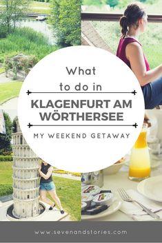 Auch in Österreich gibt es tolle Reiseziele und viel zu erleben. Was man alles in Klagenfurt am Wörthersee erleben kann, lest ihr hier. Reise, Reisen, Travel, Weekend, Getaway, Kärnten, Wörthersee, Tipps