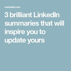Grant Writing Resume What To Write In Your Linkedin Summary  Linkedin Summary Grant .