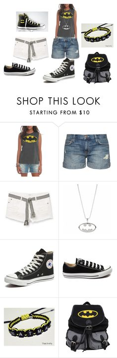 batgirl to the rescue by alexalivar on Polyvore featuring Current/Elliott, MANGO, Converse, women's clothing, women's fashion, women, female, woman, misses and juniors