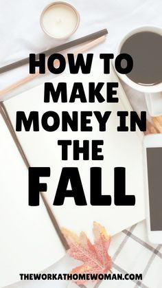 Are you looking for ways to make extra money this fall, without having to get a second job? Here's a list of legit ideas that are perfect for the autumn season! #waysto #sidejobsto #businessideas #appsto #creativewaysto #extramoney #extracash #makemoney Start A Business From Home, Home Based Business, Work From Home Jobs, Make Money From Home, Online Business, How To Make Money, Business Ideas, Earn Extra Cash, Extra Money