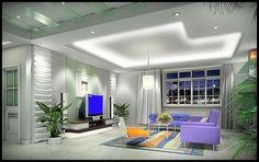 Minimalist decorating living room