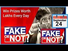 Flipkart Fake Or Not Fake Quiz Answers | 24 September 2020 | Today Fake Or Not Fake Quiz Answers - YouTube