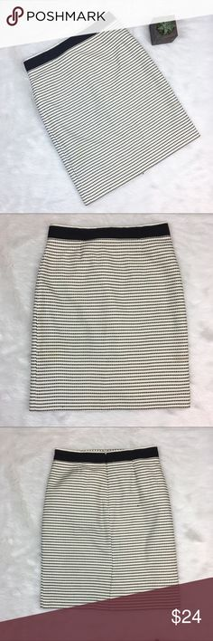 Brooks Brothers Midi Skirt Brooks Brothers midi skirt. Size 8. Approximate measurements are 23' long and 30' waist. EUC with one fabric pull on back and one small stain on front. Pictured above. Everyone needs his staple in their work wardrobe.  ❌No trades ❌ Modeling ❌No PayPal or off Posh transactions ❤️ I 💕Bundles ❤️Reasonable Offers PLEASE ❤️ Bundle & SAVE❗️❗️ Brooks Brothers Skirts Midi