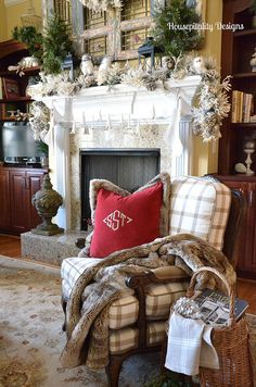 Holiday Open House–Shirley from Housepitality Designs  bHome.us #bHome