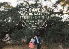 Save the Date idea - Nice graphic