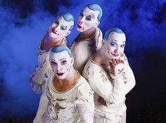 Feeling a little nutty? These four nuts will surely amuse you. (La Nouba by Cirque du Soleil)
