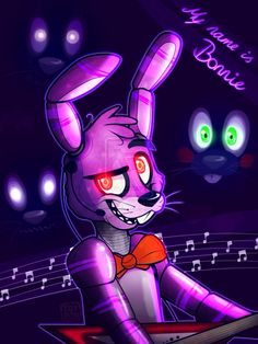 The Bonnie Song by AnimatronicBunny on @DeviantArt