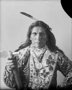 George Arkeketah (wearing a wig) - Otoe - 1898