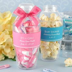 Baby Monogrammed Gifts | Personalized Baby Shower Cocktail Shaker Favors