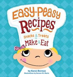 The title says it all! This book contains 13 simple recipes for kids that are easy to make because they do not require the use of a stove, oven, or sharp knives. The recipes are nutritious and fun to make and eat! With funny illustrations, easy step-by-step explanations, and additional ideas for different ways to make the recipe, kids and parents alike will enjoy this book!