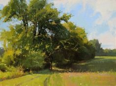 Morning Shadows by Marc Hanson Oil ~ 12 x 16
