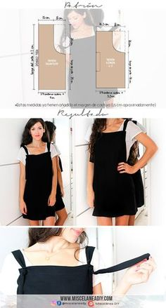 Amazing Sewing Patterns Clone Your Clothes Ideas. Enchanting Sewing Patterns Clone Your Clothes Ideas. Dress Sewing Patterns, Sewing Patterns Free, Clothing Patterns, Sewing Projects For Beginners, Sewing Tutorials, Sewing Clothes, Clothing Items, Diy Fashion, Ideias Fashion