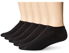Hanes Men's Ultimate FreshIQ X-Temp No Show Socks, Black, Sock Size: (Shoe Size Sock Size: The X-temp design of this men's sock adjusts to your surroundings, providing a cool and comfortable experience all day long Argyle Socks, Men's Socks, Running Socks, Pink Adidas, Adidas Shoes, Sport Socks, Athletic Socks, No Show Socks, Sock Shoes