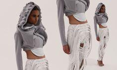 francesca capper Harem Pants, Rain Jacket, Windbreaker, Robot, Fabric, Wordpress, Jackets, Clothes, Future