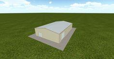 Cool 3D #marketing http://ift.tt/2ug7Rk6 #barn #workshop #greenhouse #garage #roofing #DIY
