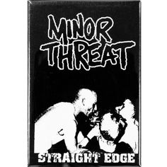 This is a very cool magnet from Minor Threat inspired by their song Straight Edge. Minor Threat, Old Glory, Magnets, Songs, Locker, Inspired, Products, Song Books, Gadget