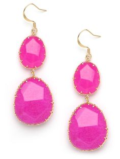 bright pink baubles