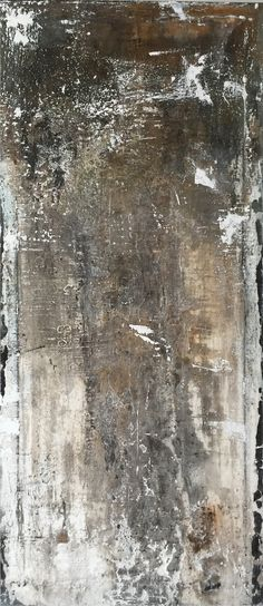 ART Mixed media on canvas 100 x 40 cm Sigrid Spee