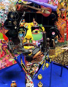 Anamorphose de Jimi Hendrix - Bernard Pras