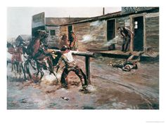Death of a Gambler, Charles Marion Russell Poster Print x Cowgirl And Horse, Cowboy Art, Western Cowboy, Charles Marion Russell, Spoke Art, West Art, Tropical Art, Le Far West, Old West