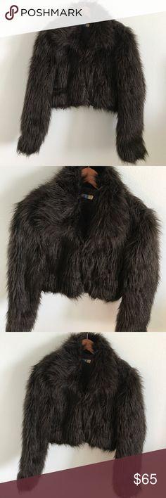 Fur Like Cropped Jacket... Fur Like Cropped Jacket... Nordstrom Jackets & Coats